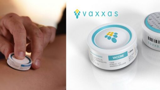Vaxxas High-Density MAP vaccine delivery system